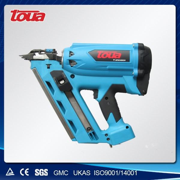 Аккумуляторная разработки гвоздильщик GSN3490CH для газа и бумажную полоску ногти