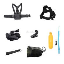 china factory price Wholesalegopros accessories sports action camera accessories gopros accessories set for gopros mount set