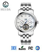 noble quartz men's novelty holing watch