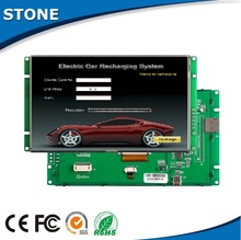 """5.6"""" tft digital control resistive touch screen all weather outdoor lcd"""