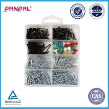 China BSCI manufacturer Assortment 750pcs steel common wire nail