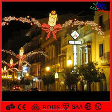 Light Up Water-Resistance Candle Lighted Outdoor Christmas Decoration For Sale LED street skylines light