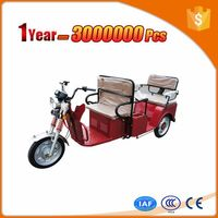 Multifunctional passenger three wheel electro-tricycle cargo