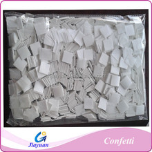 Chinese manufacture fire resistant tissue white paper confetti