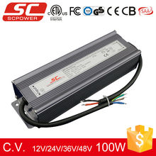 TRIAC dimmable 100W 12V PWM output LED driver for strip