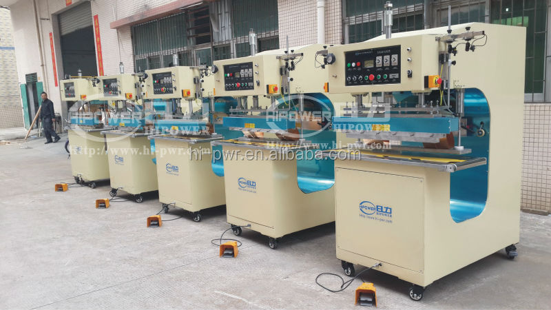 Automatic PVC Coating Fabric High Frequency Welding Machine