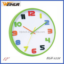 Arab battery oprated wall clock for sale/special wall clock/3D wall clock