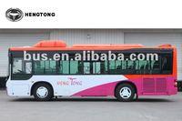 Hengtong 9 meter CNG rear engine passenger city bus (model CKZ6926HN)