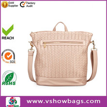genuine leather cross body bags tote bag women handbag made in China