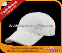 High quality italy baseball cap / 6-panel hat with embroidery logo