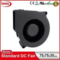 Standard SUNON 7530 Mini 75mm Micro 75x75mm Small Laptop Exhaust DC Brushless Fan Blower 12V 75x75x30 mm (PMB1275PNB2-AY (2).GN)
