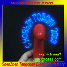 Fashion promotion products led mini fan,hand fan,usb fan for gift