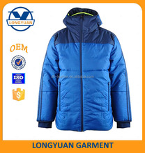 outdoor sport down jacket warm winter feather jacket hooded jacket man