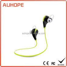 2015 new headphone csr 4.0 dual connection multipoint ultralight earphone bluetooth sport in ear