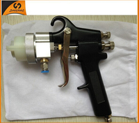 Hot rose gold Ningbo new type best double nozzle air gun paint sprayer