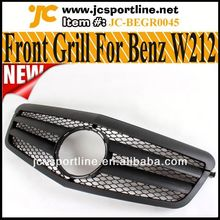 Genuino w212 amg cromado parrilla delantera para mercedes- benz w212
