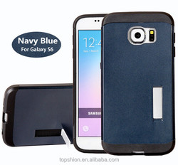 Original for samsung GALAXY S6 Edge Case Cover With Kickstand