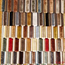 Caliente venta lavable sofá de terciopelo tela de terciopelo arrugado tela