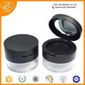 Durchsichtigem kunststoff zylinder container 2- Schicht loses pulver jar für mädchen