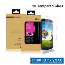 Free Sample!!0.26mm 9H ultra clear tempered screen protector for Samsung galaxy S4 / premium tempered glass screen protector