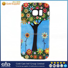 3D Oil Painting Case Cover for Samsung for Galaxy S6 Edge With Camera Hole