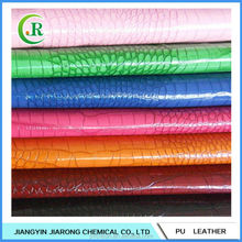New Style PU Snake Skin Leather Fabric