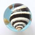 30mm nuevo diseño de cristal esfera funny bola con insectos reales de flores incrustados