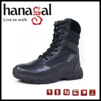 Genuine Leather Mens Waterproof Army Boots / Combat Boots / Military Boots