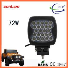 72W REC LED work light spot flood beam Voltage 12/24V waterproof IP67 for offroda truck suv all cars