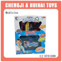 Educational baby plastic toy hospital play set
