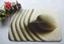 Stone print door mat