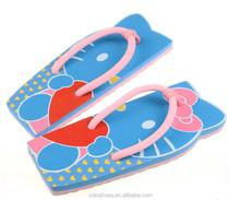 2014 fancy and cute kids flip flops