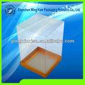personalizado de plástico caja de presentación para la venta