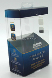 2015 Alibaba China printed clear pvc boxes, pvc packaging clear