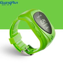 Wrist watch phone gps tracking one wey listing and monitor gps watch kids JM09