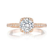 Rose cut gold wedding ring handmade jewelry 3A diamond rings