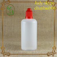Cheapest plastic dropper bottles 150ml ,e-liquid dropper bottle with red childproof top