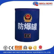 SECU SCAN Explosive Dispose Container Model: FBG-G1.5-TH101 security Bomb can for all crowded important location.