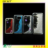 New design Quicksand Clear Soft TPU Colorful Case Phone Cover for iphone 6 4.7'/iphone 6 5.5'