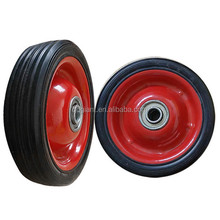 solid rubber wheels 5 inch