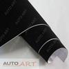 1.35*15M Car Interior Decoration Black Velvet Car Wrap Sticker