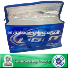 Lead-free NON WOVEN Promotional Cooler Bag For Beer Bottle
