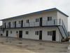 Guangzhou high quality steel structure wooden prefab house