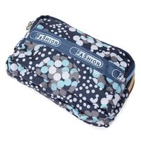 2015 Women Coin Purses Dots Design Mini Girl Handbag Triple Zipper Clutch Bag Card Case Small Lady Bags Phone Pouch Purse New