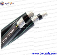 Aerial Bundle ABC Cable For 0.6/1KV Long term Running in some Project