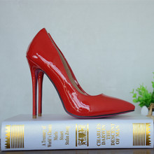 Red Patent Leather Women Wedding Shoes China Wholesale Shoes Dress Shoes For Ladies