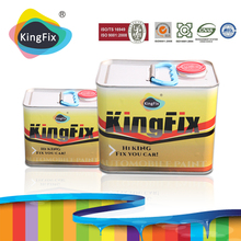 KINGFX Brand Easy color auto car paint metallic colors