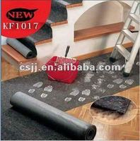 Eco Nonwoven carpet underlay with PE coating/polyester carpet