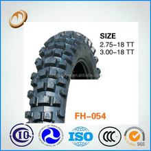 china cross country motorcycle tire 2.75-18