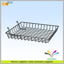 High quality custom bakery shop countertop cookies metal wire display tray
